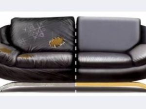 Перетяжка кожаного дивана в Орле